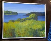 #61 - &quot;Monks Cove&quot; - Original Acrylic Painting by Bill Adelman